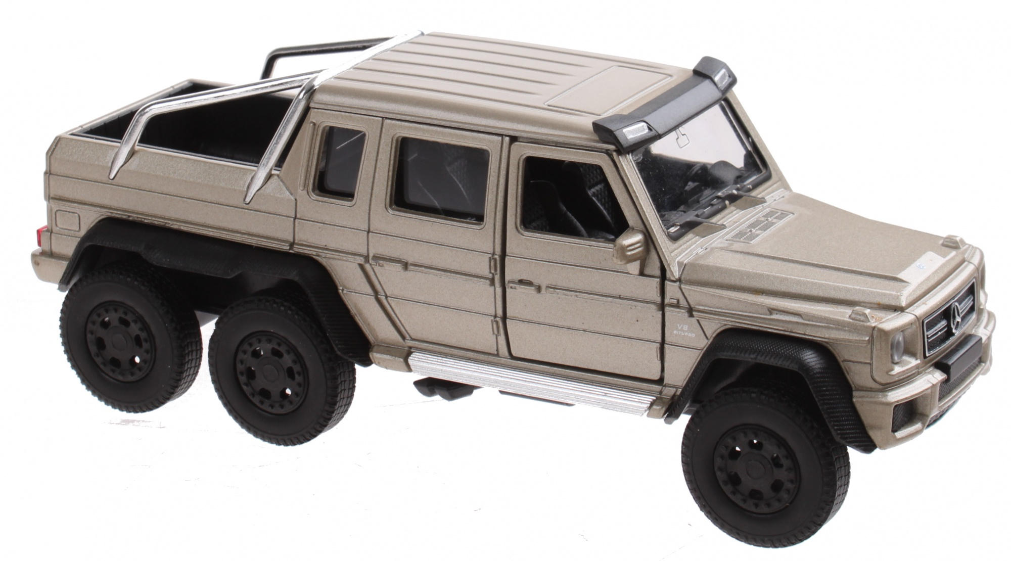 G63 Amg 6X6 >> Scale Model Mercedes Benz G63 Amg 6x6 Bronze 13 Cm