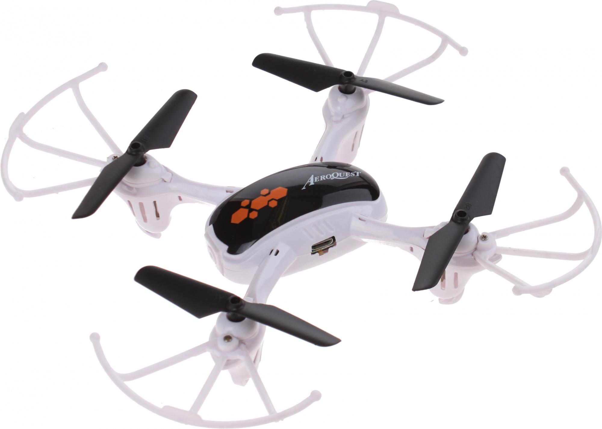 Ongebruikt TOM mini-drone 16 x 16 cm white - Internet-Toys HD-96