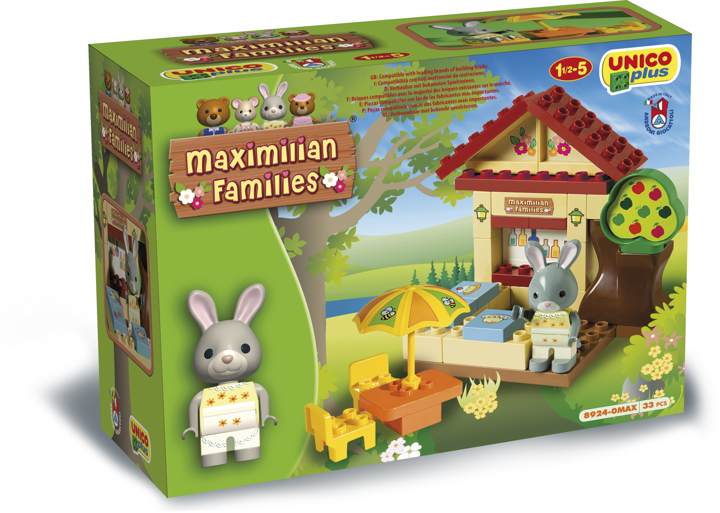 Maximilian Families Coffee House 33 Piece