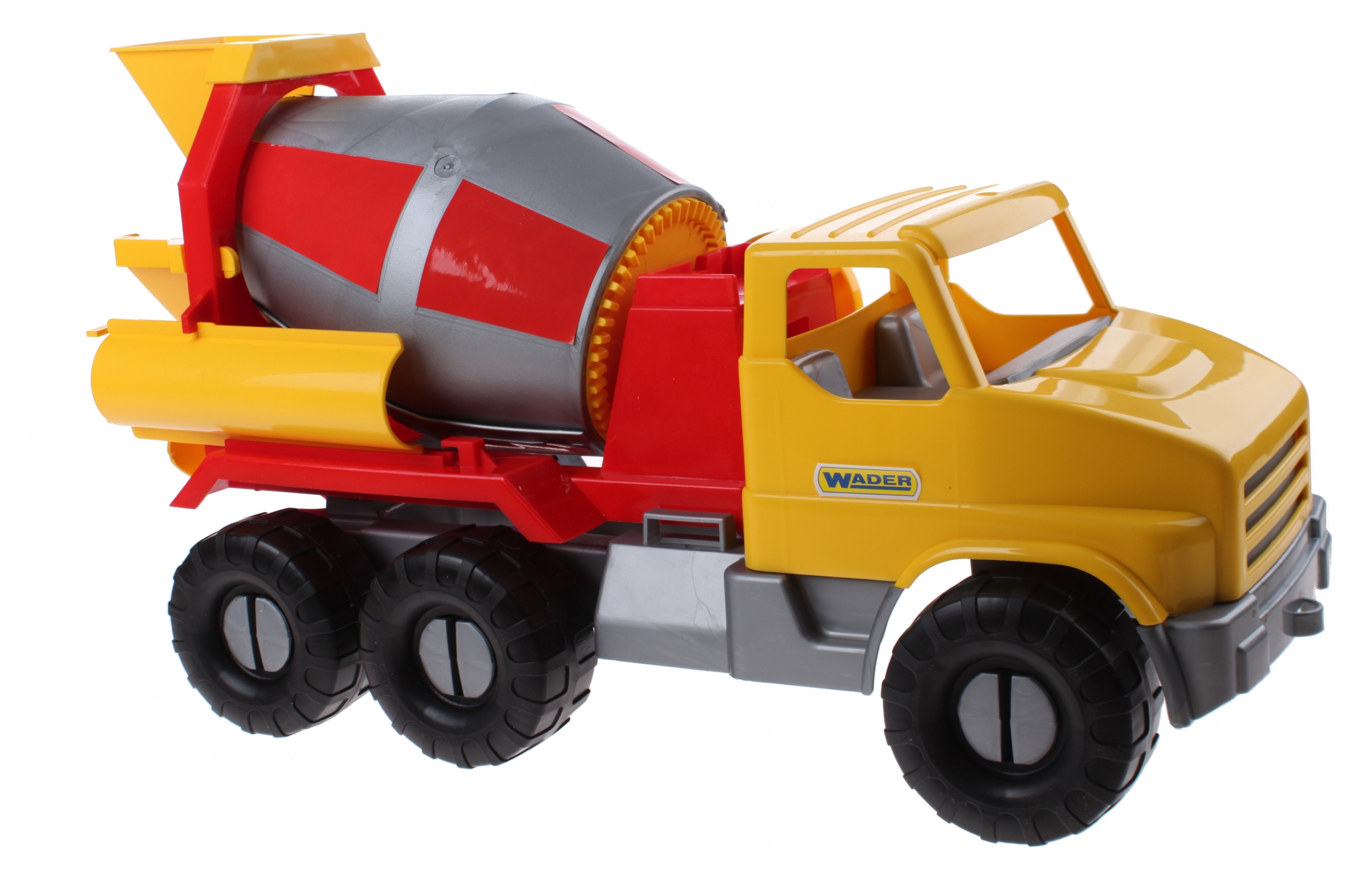 Speelgoed Garage Wader : Wader speelgoed betonwagen geel cm internet toys
