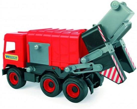 Speelgoed Garage Wader : Wader speelgoed vuilniswagen rood cm internet toys