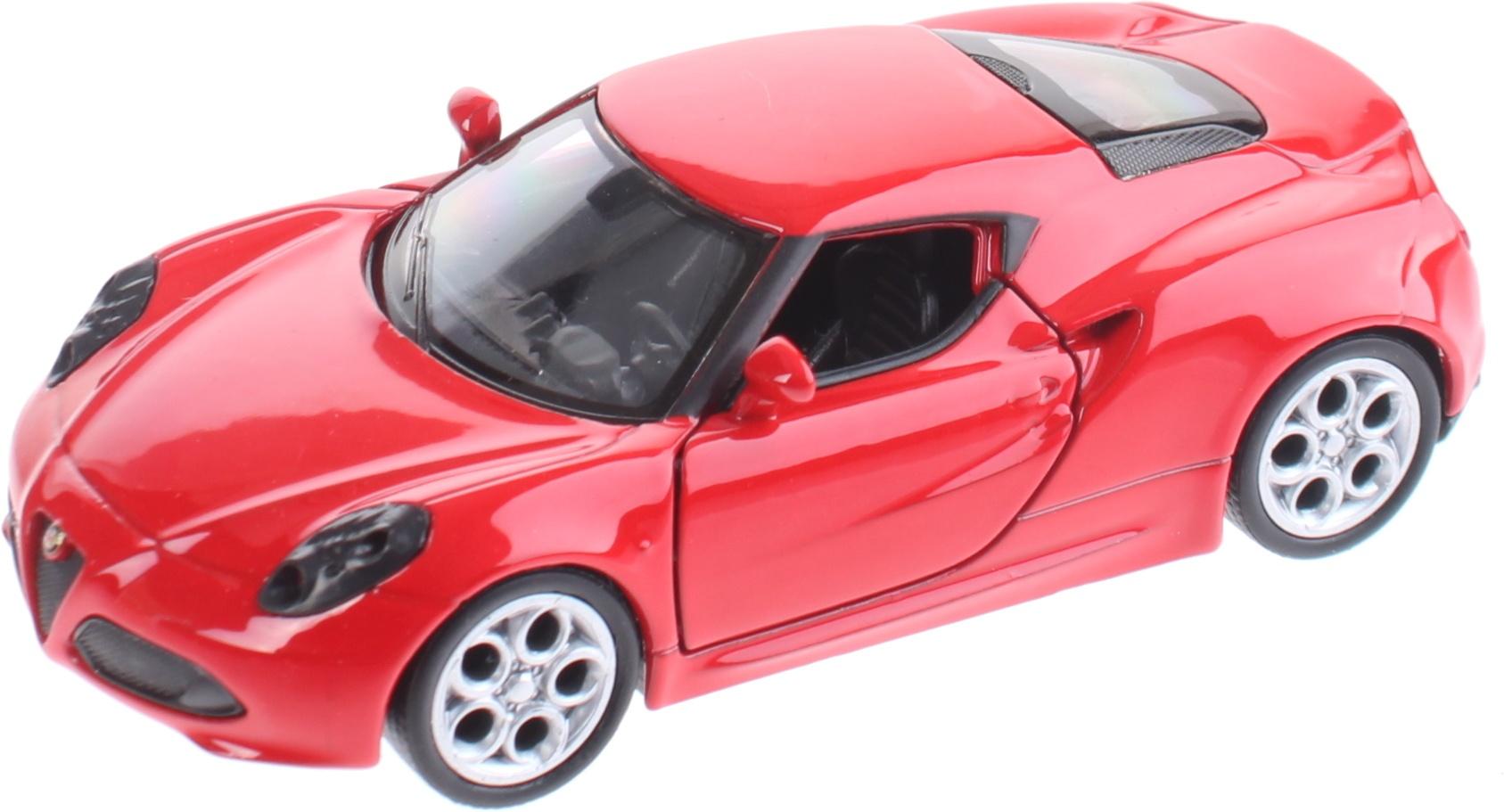 Alfa Romeo 4C >> Miniature Alfa Romeo 4c Red
