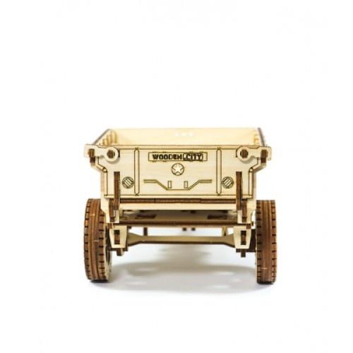 Wooden City Wooden 3D puzzle trailer 14 4 cm - Internet-Toys