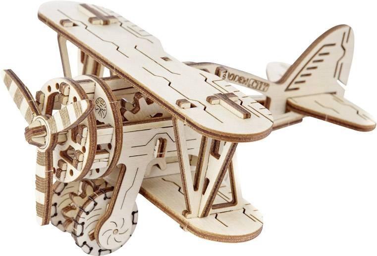 Wooden 3D puzzle plane 14 cm