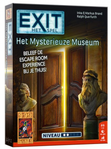 999 Games conundrum EXIT - The Mysterious Museum