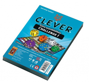 999 Games dice game Clever Challenge Score Block