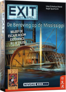 999 Games card game EXIT - The robbery on the Mississippi