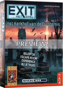 999 Games card game EXIT - The cemetery of darkness