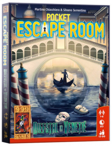 999 Games card Game Pocket Escape Room: Theft in Venice