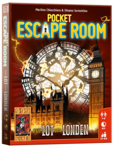 999 Games card Game Pocket Escape Room: The Lot of London