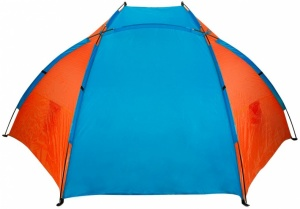 Abbey Strandtent 270 x 120 x 120 cm Blau / Orange