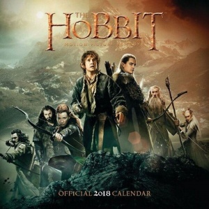 BrownTrout kalender 2018 The Hobbit 30 cm