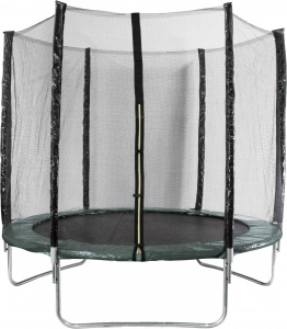 AMIGO trampoline with safety net 244 cm dark green