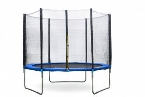 AMIGO trampoline with safety net blue 305 cm-S3