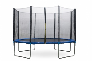 AMIGO trampoline with safety net blue 366 cm
