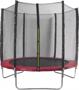 AMIGO trampoline with safety net red 244 cm