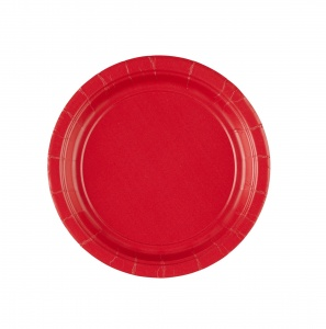Amscan party plates red 17,7 cm 8 pieces