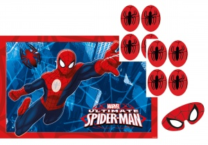 Amscan party game Spider-Man 10-piece