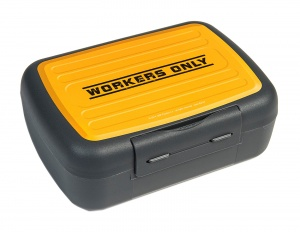 Amuse bread bin yellow/grey 2.3 litres