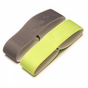 Amuse elastic for bread bin 15,5 cm green/grey 2 pieces