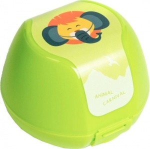 Amuse fruit box lion 0,5 liter green