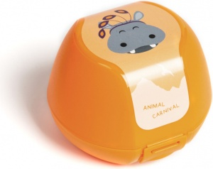 Amuse fruit box hippo 0,5 liter orange