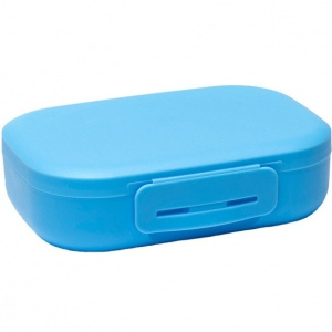 Amuse lunchbox with clip Medium 1 liter blue