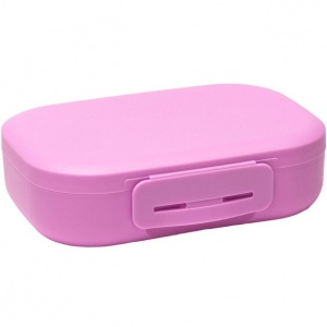 Amuse lunchbox met clip Medium 1 liter roze