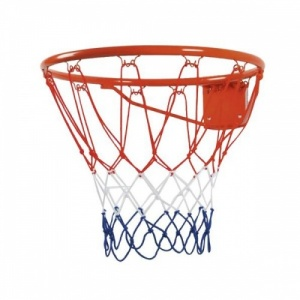 Angel Sports Basketbalring Oranje 46cm Met Net