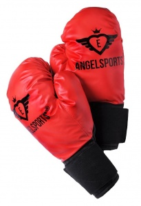 Angel Sports bokshandschoenen junior rood