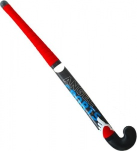 Angel Sports Streethockeystick 34 inch 17 mm zwart/rood