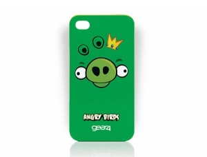 Angry Birds Ping King Iphone 4 phone case green