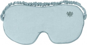 Aroma Home sleeping mask ladies one size light blue