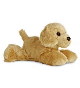 Aurora Knuffel Mini Flopsie golden retriever 20,5 cm
