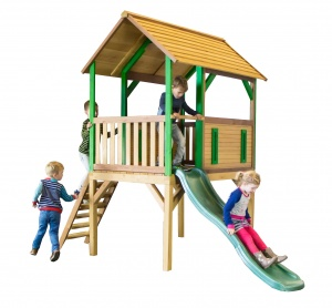 AXI Bogo playhouse 318 x 172 x 272 cm bright