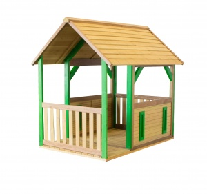 AXI Forest playhouse 118 x 172 x 178 cm bright