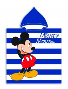 Aymax badponcho Mickey Mouse 55 x 110 cm