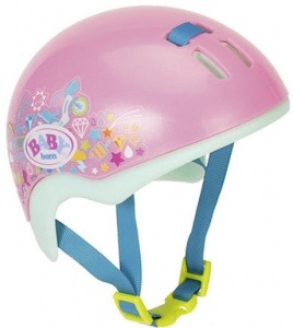 BABY born bicycle helmet pink 13 x 12 x 10 cm