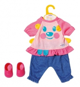BABY born clothes set Trendygirls 36 cm pink / blue 4-piece