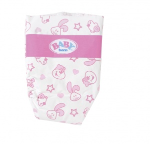 BABY born doll diapers 5 pieces for doll up to 43 cm