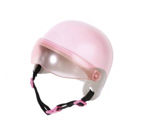 BABY born scooterhelm City 43 cm roze