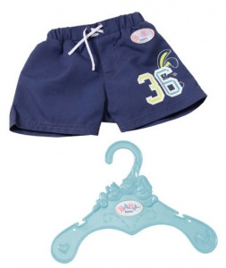 BABY born swimming shorts dark blue 43 cm