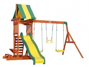 Backyard Discovery Sunny play tower with swings 406 cm