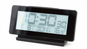 Balvi alarm clock digital multifunctional 16 cm black