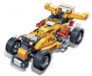 BanBao bouwpakket Turbo Power Invincibility 132-delig