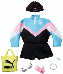 Barbie clothing set Fashions: Puma7-piece blue/black