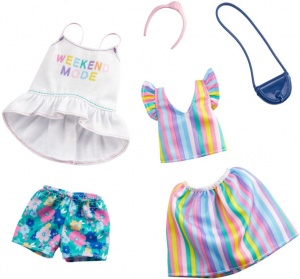 Barbie clothing set Weekend Mode6-piece