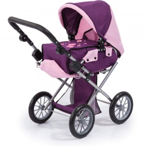 Bayer poppenwagen City Star paars/roze 72 cm