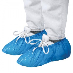 Beco shoe covers 100 pieces blue