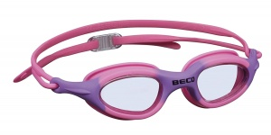 Beco schwimmbrille BiarritzPolycarbonat Mädchen pink/lilac